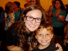 KidShine camper and counselor