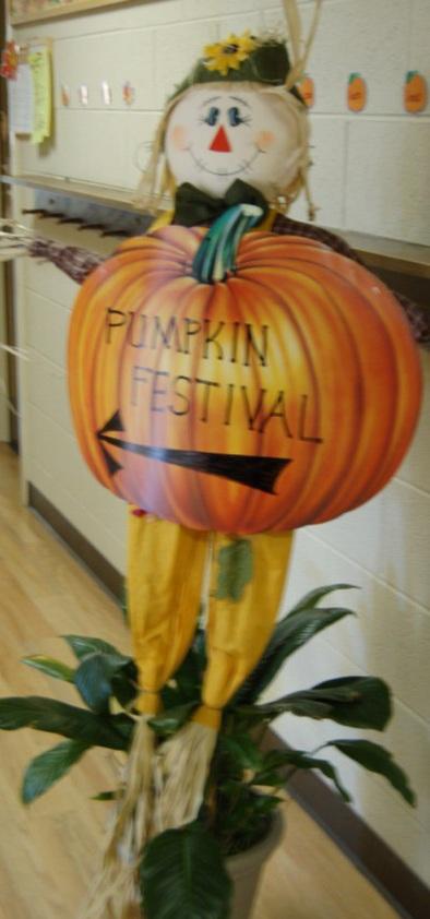 Pumpkin Festival sign