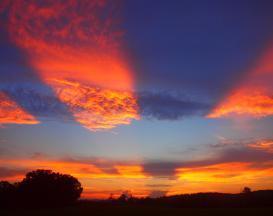 Sunset at John Knox Center