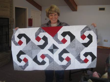Quilt project at John Knox Center