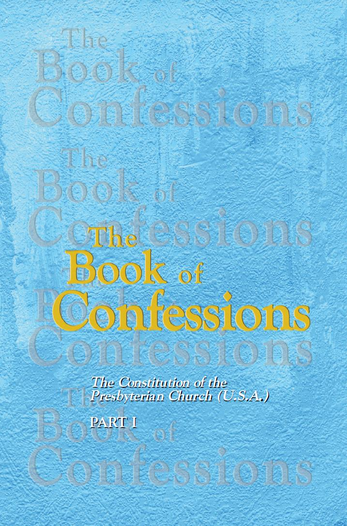 Cover, Book of Confessions