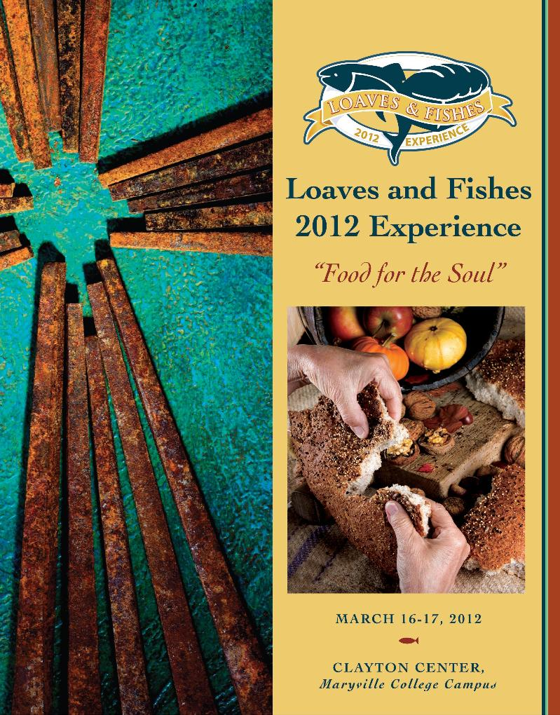 Loaves and Fishes 2012 Brochure Cover