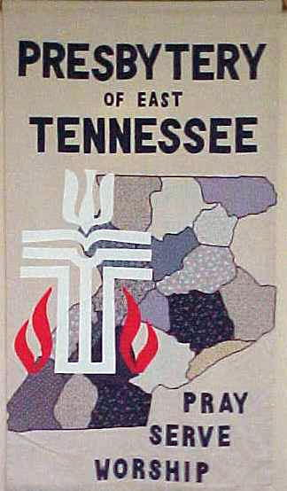 Banner of the PResbytery of East Tennessee