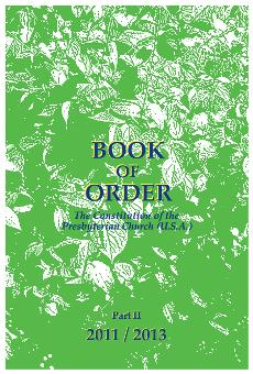 2011-2013 Book of Order