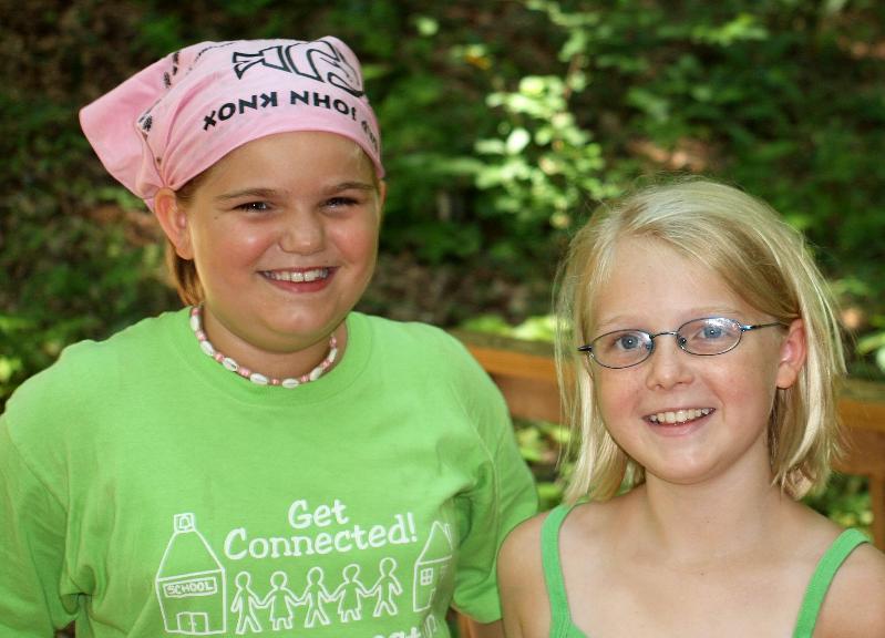 Kids at Camp John Knox
