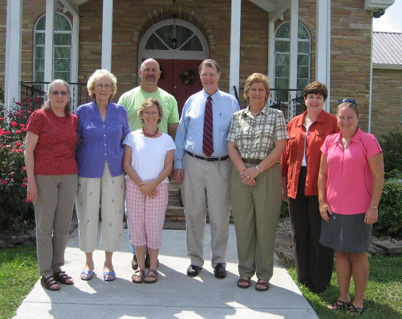 The PET Staff visits Center Presbyterian Church in Tellico Plains, TN