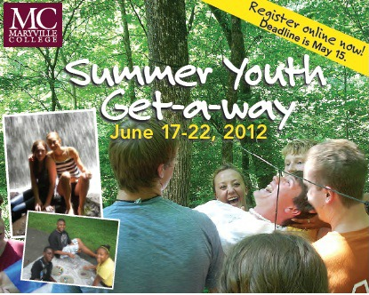 Summer Youth Get-A-Way graphic