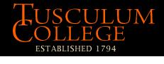 Tusculum College logo