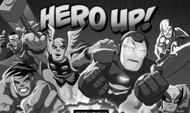 Hero Up! graphic