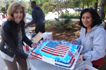 veterans event with Valerie Shepard and Ana Marie