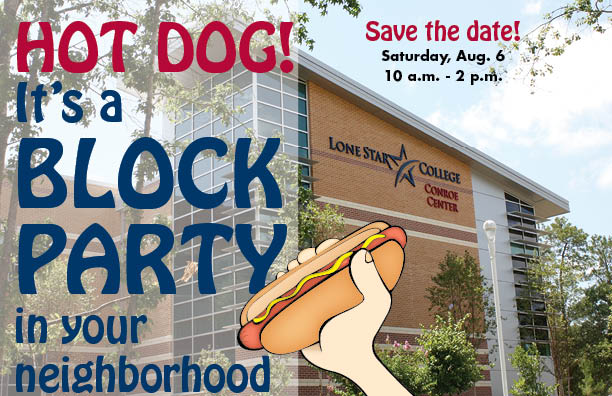 Conroe Center Block Party