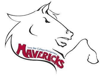 Maverick Logo LSC-Montgomery Maverick