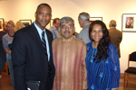 Dr. Lane, Rajiv and Priti Malkan