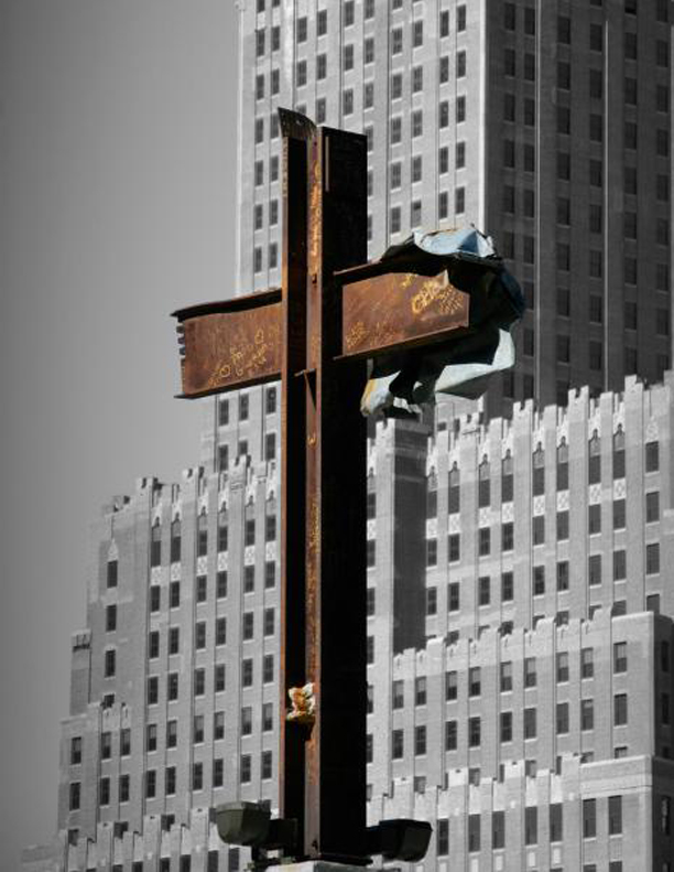 Ground Zero Metal Cross
