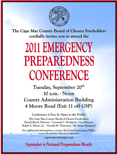 Emergency Preparedness Conf Flyer