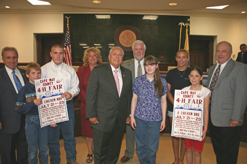 4 H'ers at the Freeholders' Meeting