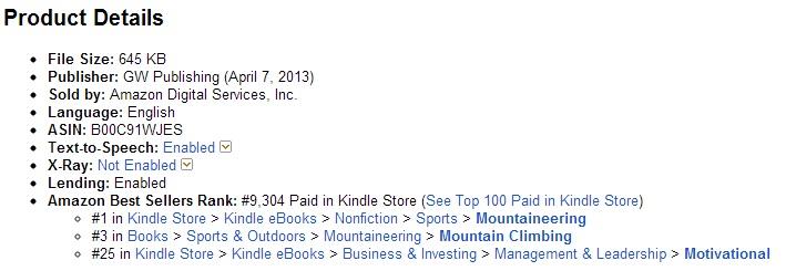 #1 Best Seller Screen Shot