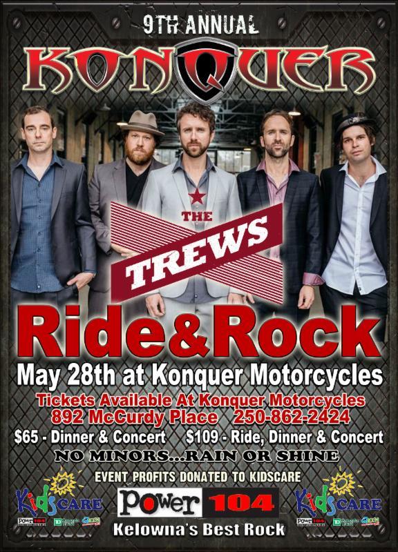 Ride & Rock  - KELOWNA, BC @ Konquer Motorcycles | Kelowna | British Columbia | Canada