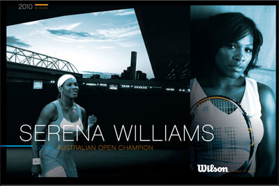 Serena AO 2010 Wilson