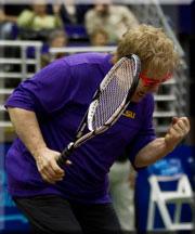 Elton John fist