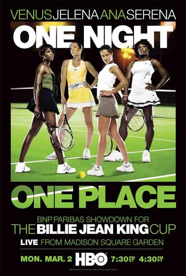 Tennis Night in America