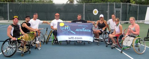 WTT Wheelchair tennis