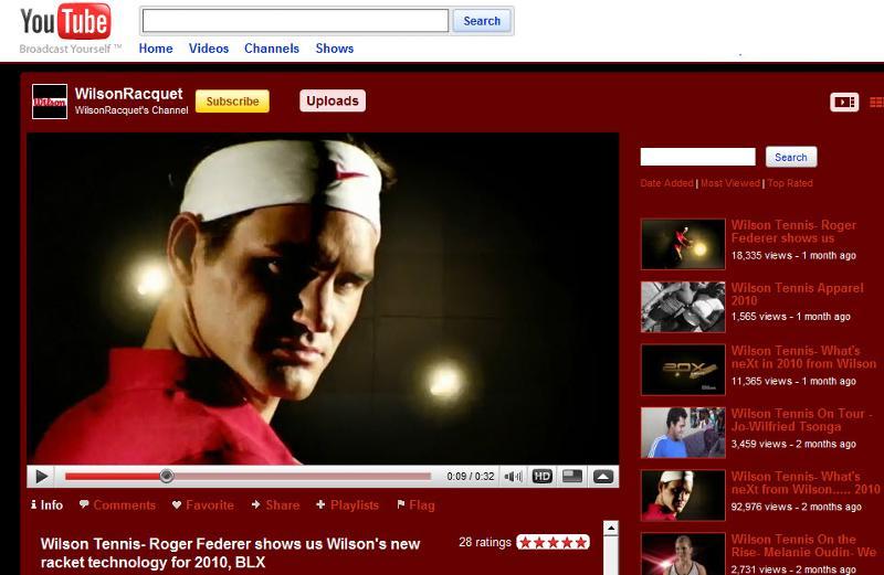 Wilson YouTube