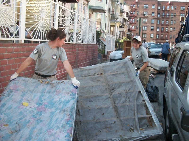 americorps mattress moving