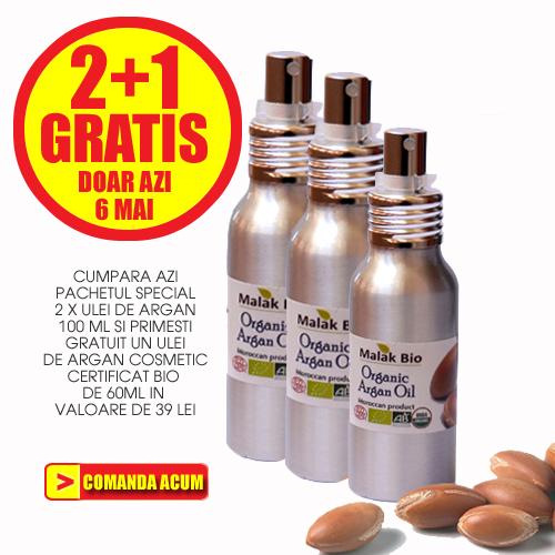 Ulei de argan 2 + 1 GRATIS - ArganMaroc