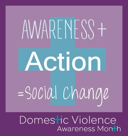 Domestic Violence Awareness Month 2015 Logo
