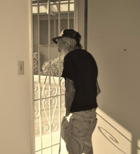 Formerly homeless Veteran in permanent housing