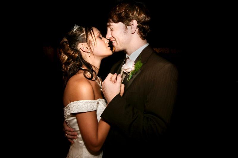 bride and groom dance istock photo