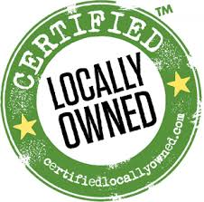 Locally owned logo