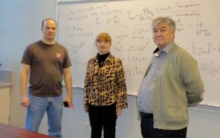 Professor Singleton, Ms. Razina and Dr. Myrzakulov