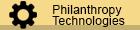 Philanthropy technologies