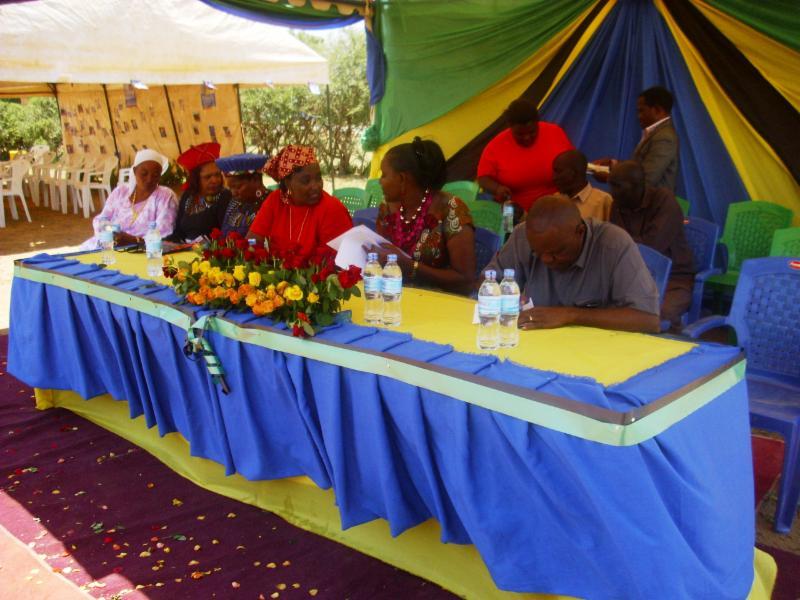 Maasai Stoves & Solar at Internation Women's Day