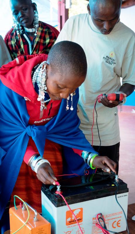 Maasai Stoves _ Solar Training
