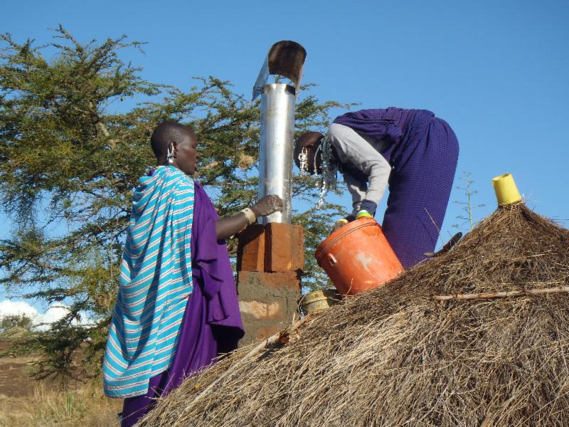 Maasai Stoves & Solar Installation Team