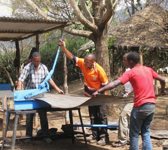 Maasai metalworking factory