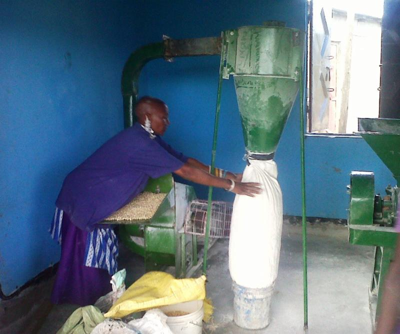 Flour mill in Mto wa Mbu