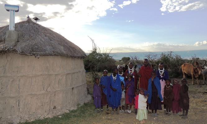 Maasai Stoves & Solar family customers