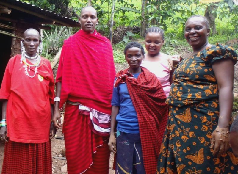 Maasai and Batwa people collaborating