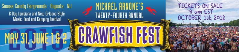 Crawfish Fest 2013 Lineup Announced & Tickets Info