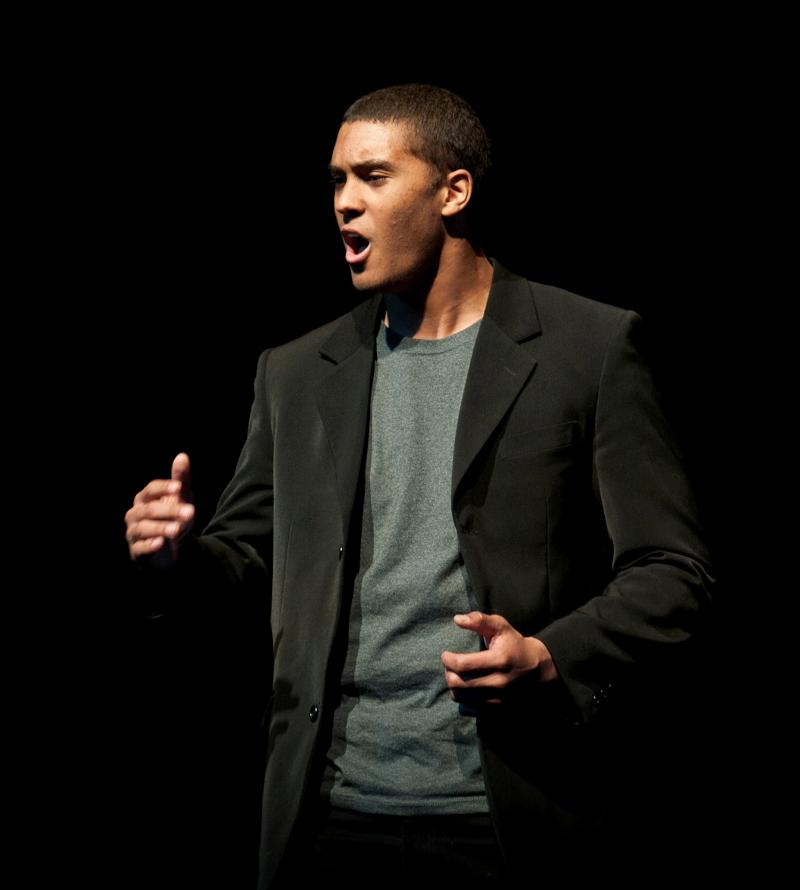 Langston Ward, Poetry Out Loud state champion