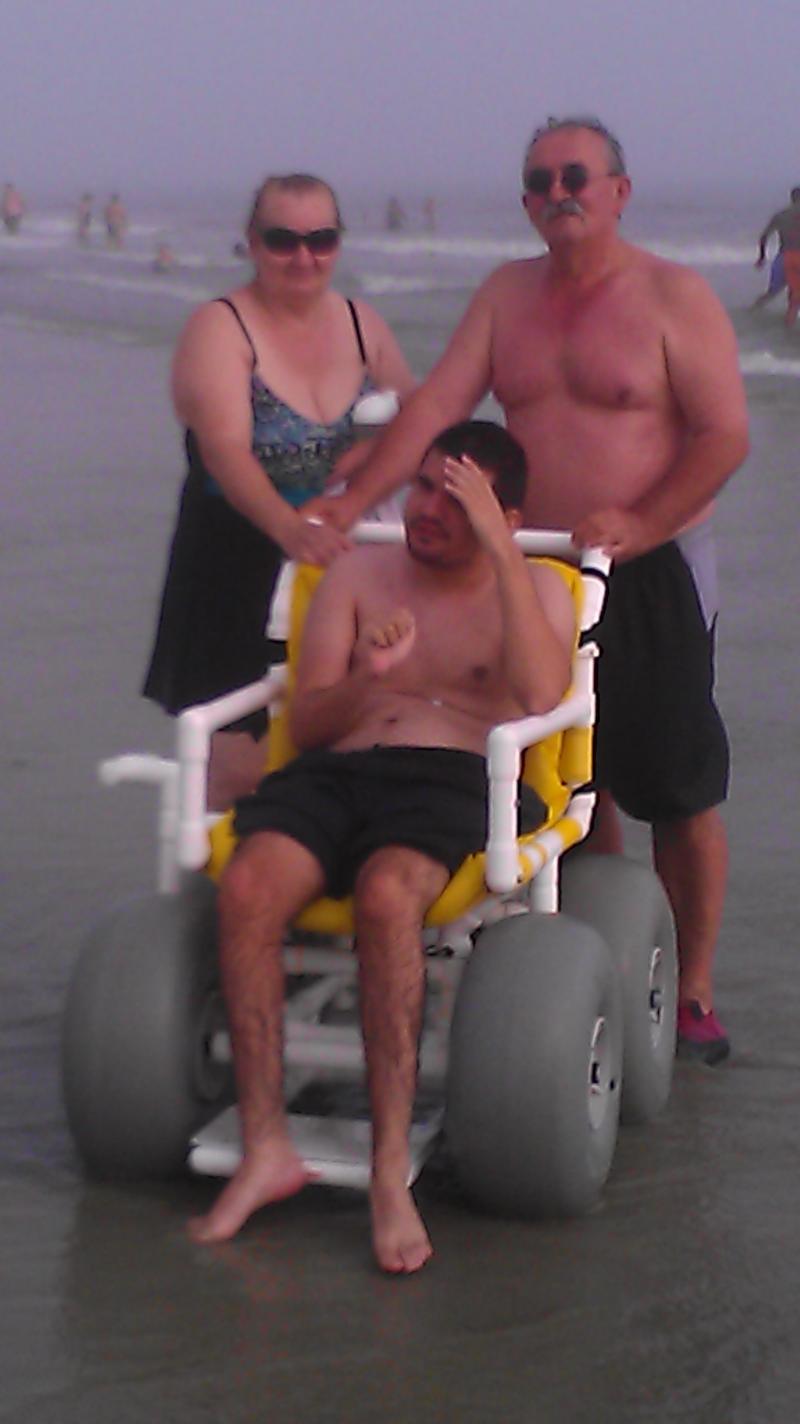Milo at the Beach