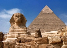 Sphinx-Pyramid, Cairo, Egypt