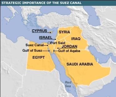 BBC: Strategic Importance of the Suez