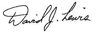 David Lewis' signature