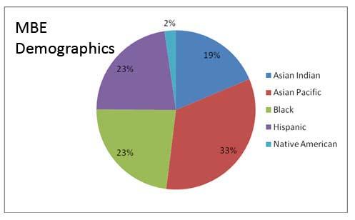 MBE Demographics April 2009