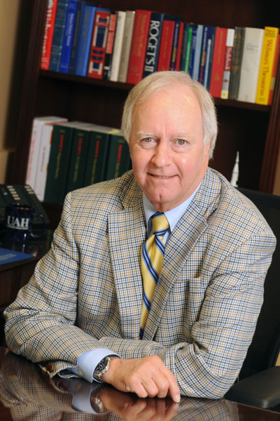 Dr. Robert Altenkirch, president of The University of Alabama in Huntsville